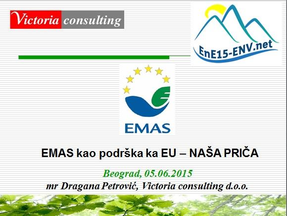 EMAS Dragana Petrovic Victoria consulting
